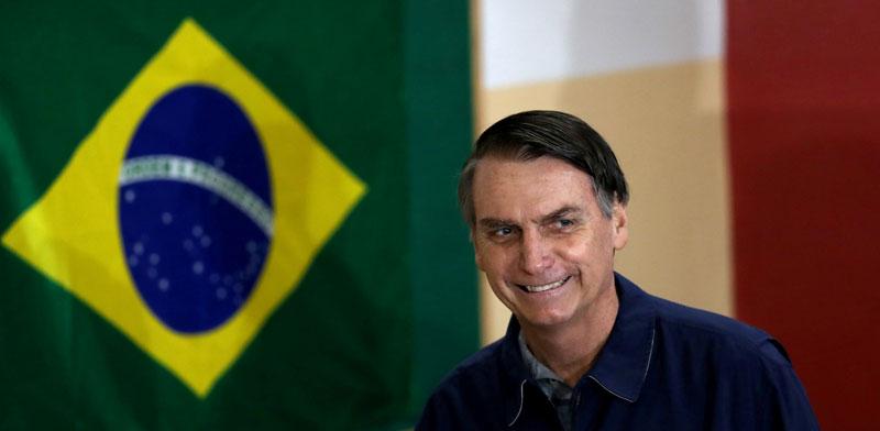ז'איר בולסונארו / צילום: רויטרס, Ricardo Moraes