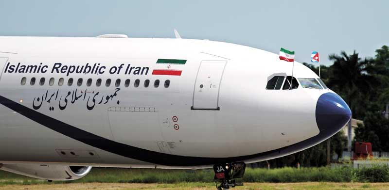 מטוס של איראן אייר / צילום: רויטרס
