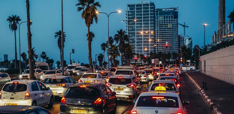פקקי תנועה / צילום: Shutterstock, א.ס.א.פ קריאייטיב