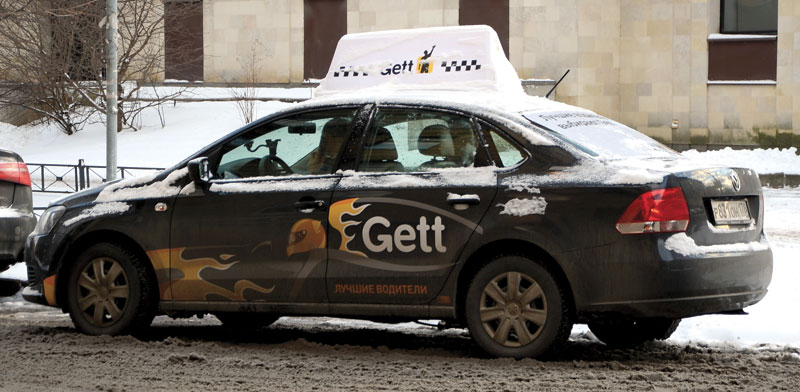 Gett taxi  photo: Shutterstock/ASAP Creative