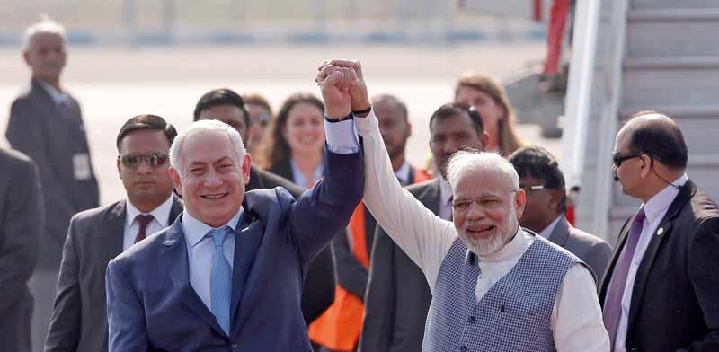 Netanyahu meets Modi Photo: Reuters Adnan Abidi