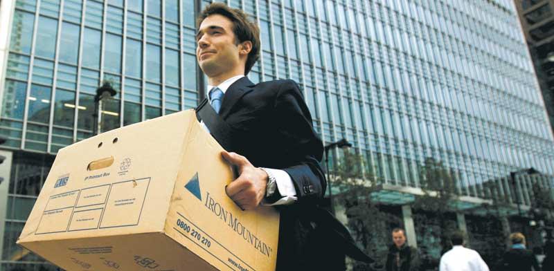 עובד ליהמן ברדרס שפשט רגל / צילום: רויטרס, Andrew Winning