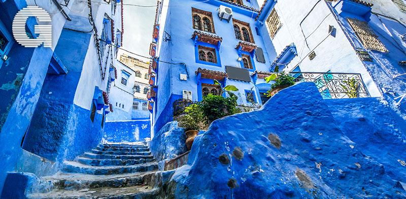 העיר הכחולה, שאפשאוואן / צילום: Shutterstock | א.ס.א.פ קריאייטיב