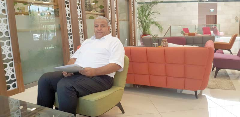 עי מאד דחלה, ראש מועצת טורעאן / צילום: גיא נרדי