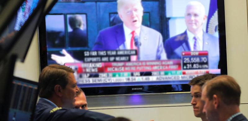 סוחרים בבורסת NYSE / צילום: רויטרס Lucas Jackson