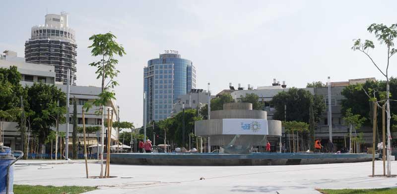 כיכר דיזנגוף לאחר השיפוץ/צילום: תמר מצפי