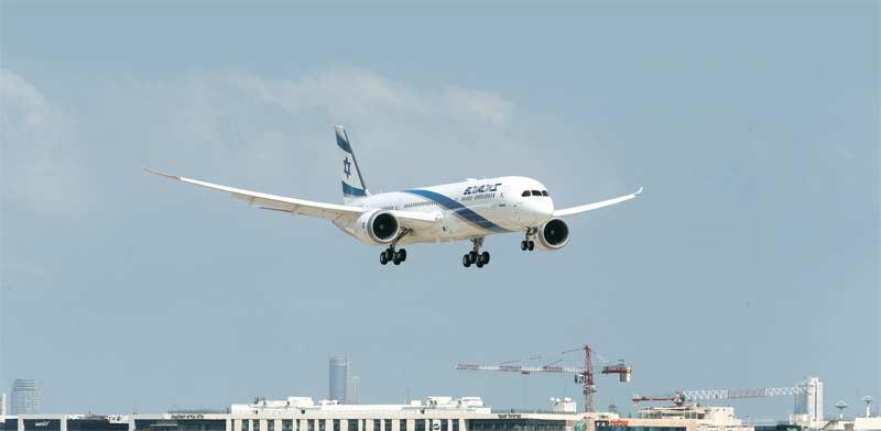 מטוס הדרימליינר של אל על / צילום: סיון פרג'