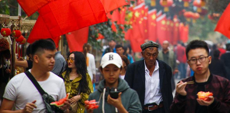 שוק רחוב, סין / צילום: רויטרס thomas peter