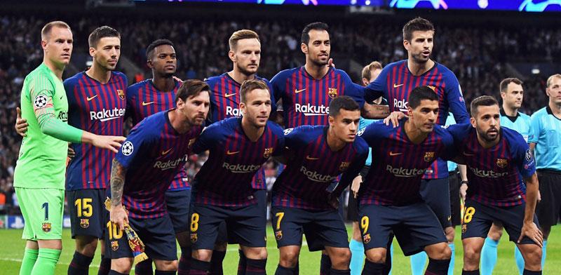 קבוצת כדורגל ברצלונה