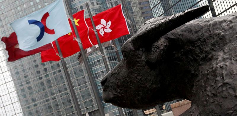 בניין הבורסה, הונג קונג / צילום: רויטרס