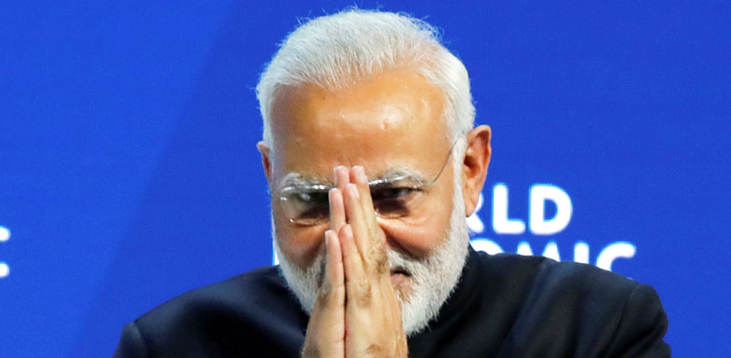 ראש ממשלת הודו נרנדרה מודי / צילום: רויטרס denis balibouse