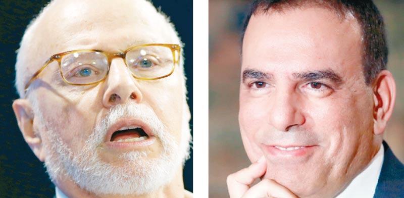 עמוס גניש ופול סינגר / צילומים: צילום: רויטרס - Remo Casilli, Mike Blake