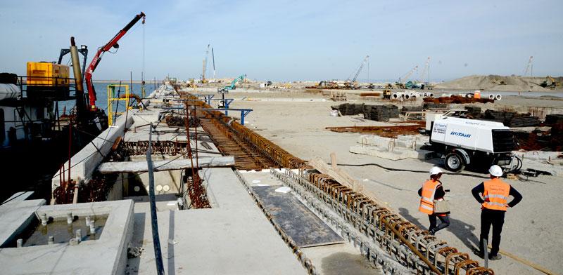 הנמל החדש בחיפה / צילום: איל יצהר