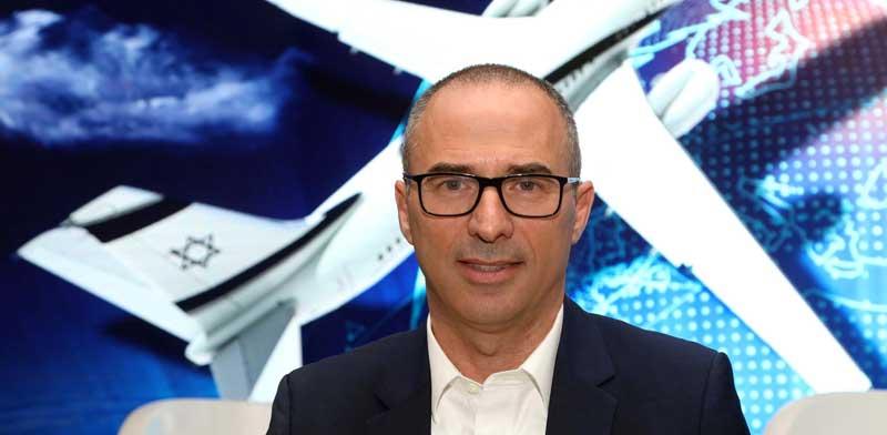 El Al CEO Gonen Usishkin Photo: Sivan Faraj
