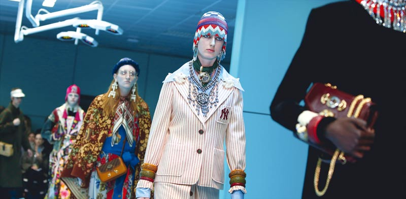 אופנה / צילום: רויטרס, Tony Gentile