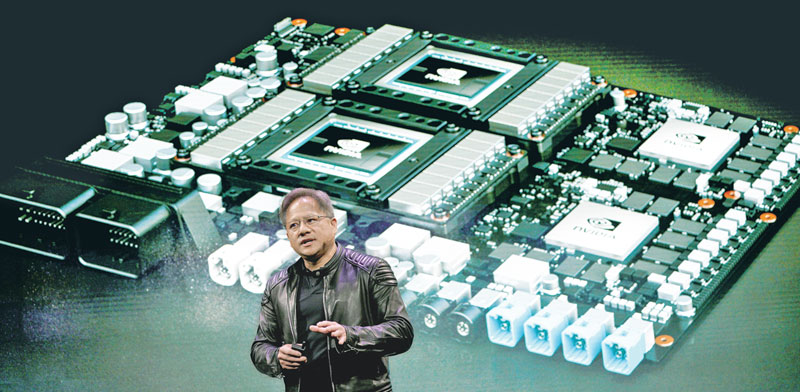 Nvidia CEO Jensen Huang Photo: Reuters Rick Wilking