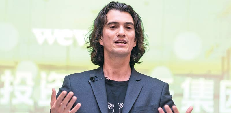 Adam Neumann Photo: Reuters