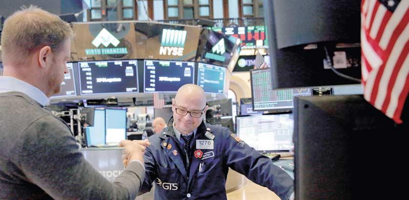 משקיעים בבורסת ניו-יורק / צילום: רויטרס