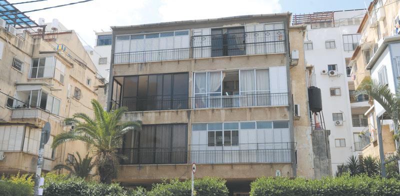 הבניין ברחוב הירש / צילום: איל יצהר