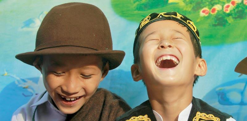 צחוק / צילום: רויטרס