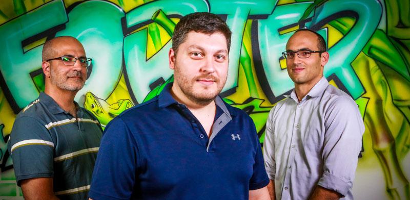 מיכאל רייטבלט, לירון דמרי ואלון שמש/ צילום: שלומי יוסף