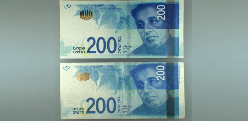 שטרות מזויפים / צילום: בנק ישראל