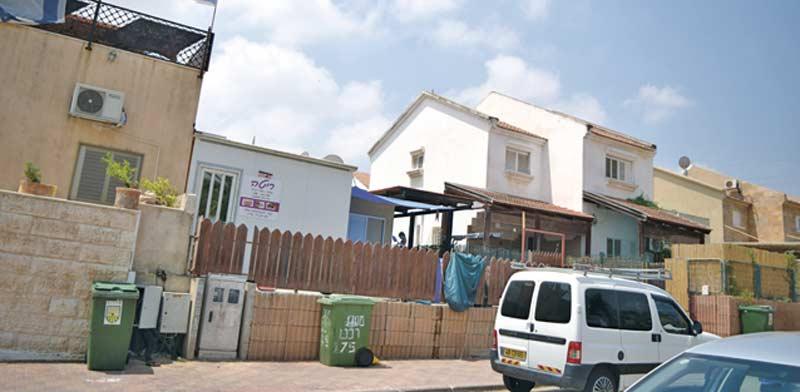 שדרות, ברחוב משה רבנו בשכונת נאות המייסדים / צילום: בר אל