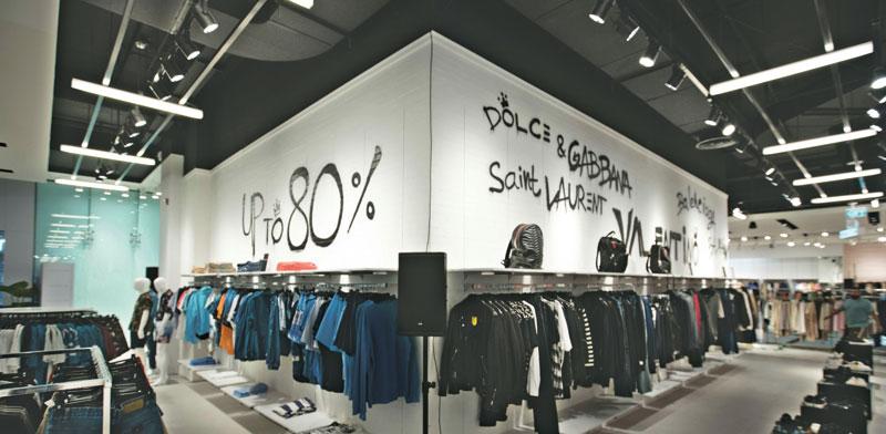 חנות פופ-אפ של פקטורי 54 בקניון TLV בתל-אביב / צילום: חן וגשל