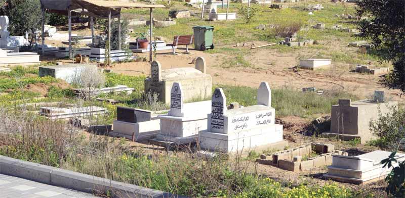 בית הקברות בתל כביר / צילום: איל יצהר