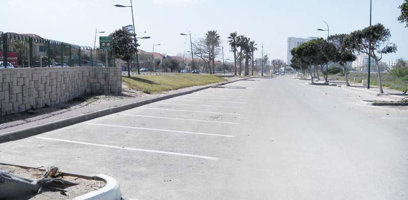 הדרך שהפכה לחניון / צילום: יחצ