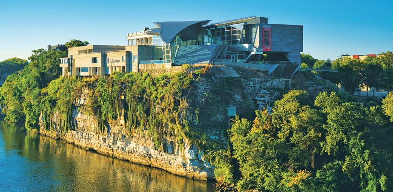 Crystal Bridges Museum, בנטונוויל, ארקנס/  צילום:  Shutterstock/ א.ס.א.פ קרייטיב