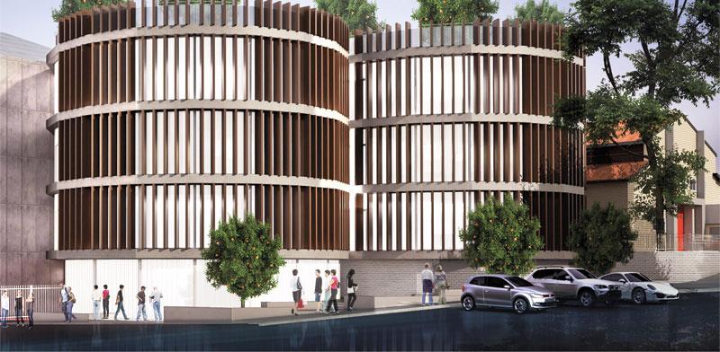 בניין הסדנאות / הדמיה: אדריכל יוסי קורי