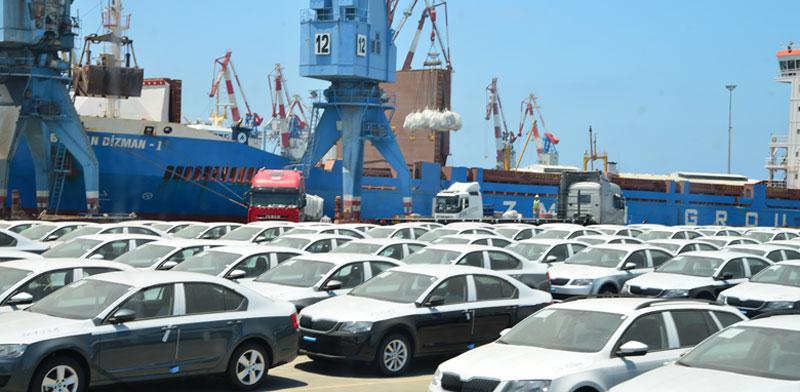 רכבים חדשים בנמל אשדוד / צילום: תמר מצפי