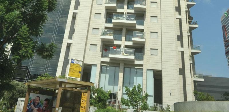 הבניין ברחוב אבא הלל ברמת גן / צילום: תמא מצפי