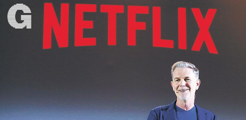 """ריד הייסטינגס, מנכ""""ל נטפליקס / צילום:Netflix"""