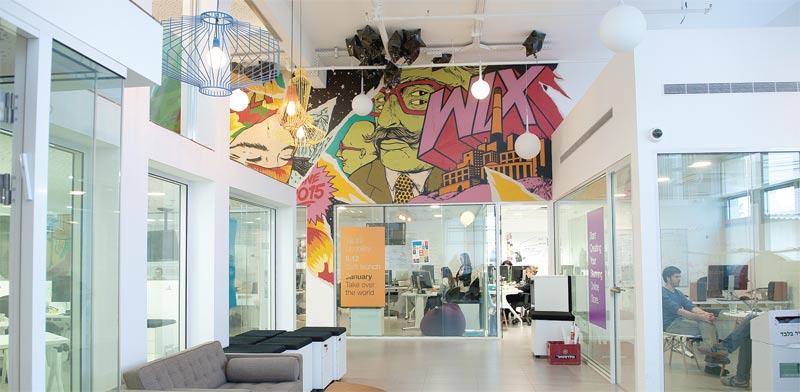 משרדי Wix / צילום: אילן נחום
