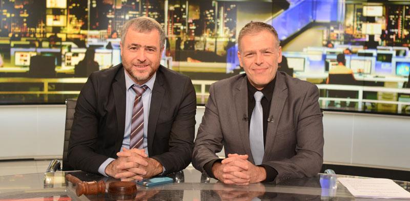 אראל סגל ושמעון ריקלין / צילום: יחצ