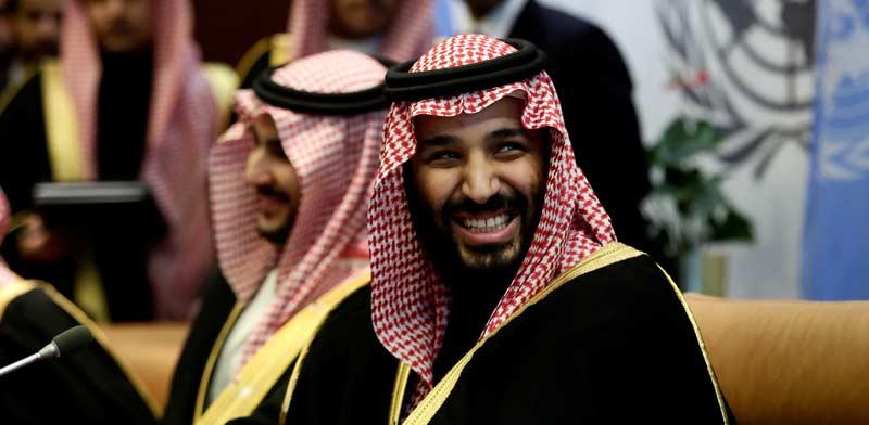 נסיך הכתר הסעודי מוחמד בן סלמן. /צילום: רויטרס Amir Levy ,