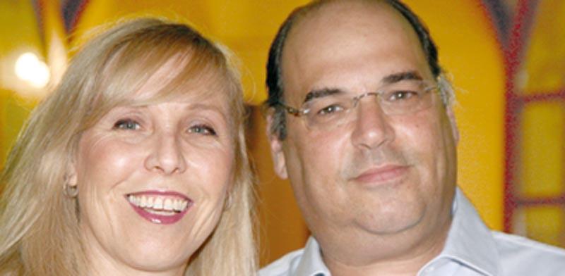מיכאל ססלר ודפנה זלקינד ססלר  / צילום : יחצ