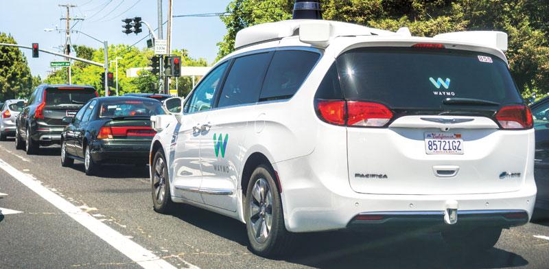 הרכב האוטונומי של ווימו ברחובות סן פרנסיסקו / צילום: Shutterstock, א.ס.א.פ קריאייטיב