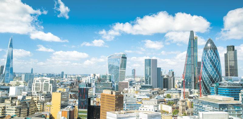 קו הרקיע של לונדון / צילום:  Shutterstock/ א.ס.א.פ קרייטיב