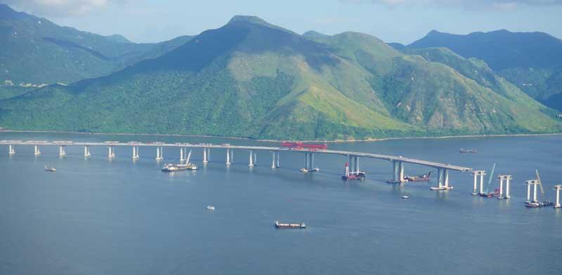 הגשר בין מקאו להונג קונג/ צילום:  Shutterstock/ א.ס.א.פ קרייטיב
