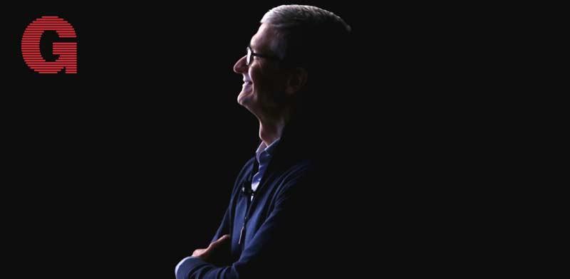 """מנכ""""ל אפל טים קוק / צילום: רויטרס- Stephen Lam"""