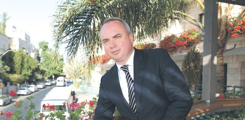 Volodymyr Stavniuk Photo: Yossi Zamir