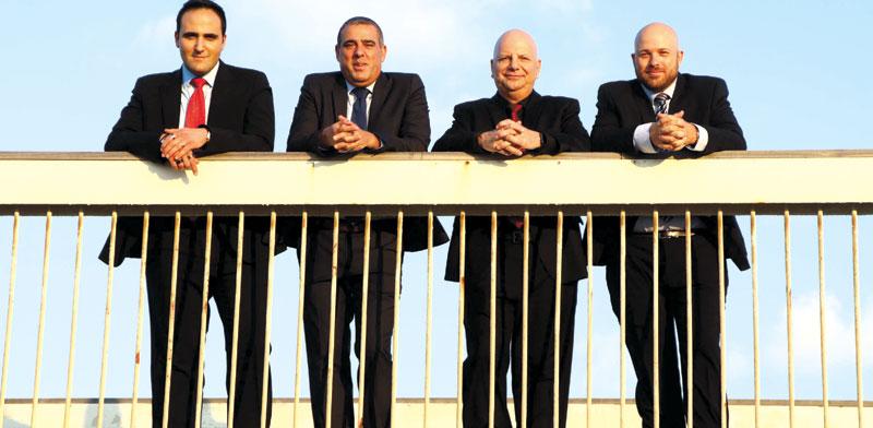 איתי גלמור, דויד פרידמן, יובל זאנטקרן ויואב קרן /  צילום: אמיר מאירי