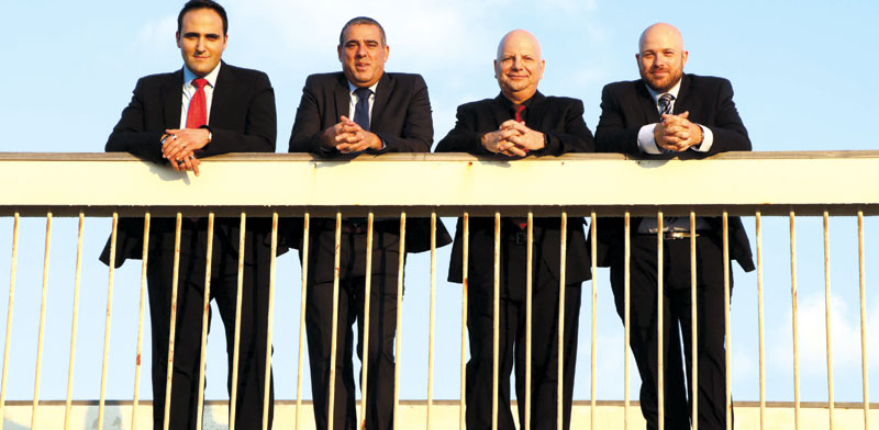 Yoav Keren, Yuval, Zantkeren, David Fridman, Itai Galmor photo: Amir Meiri