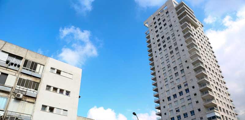 בנייה ישנה וחדשה בנווה שרת/ צילום: שלומי יוסף