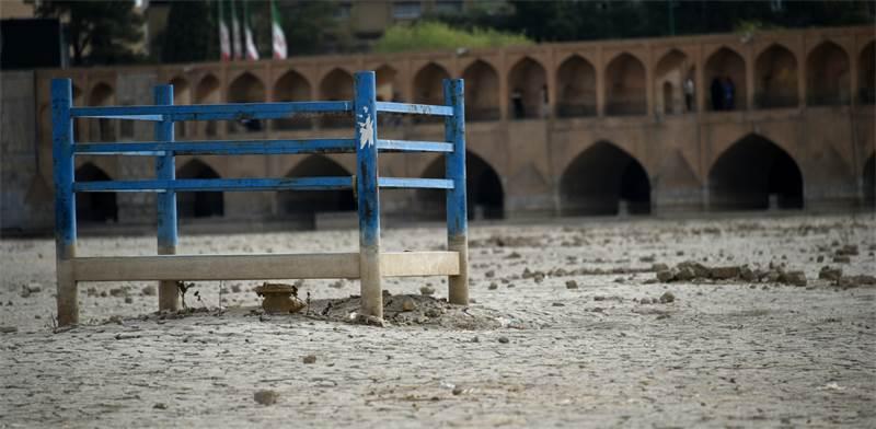 נהר שהתייבש באיראן / צילום: Shutterstock