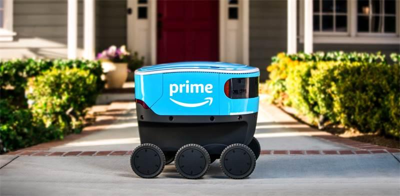 רובוט המשלוחים Amazon Scout / צילום: Amazon Prime