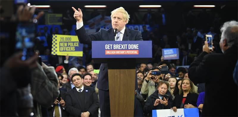 בוריס ג'ונסון, ראש ממשלת בריטניה / צילום: רויטרס